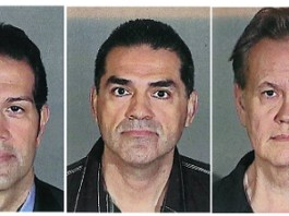 Tax consultant Salari, Los Angeles County's Tax Assessor John Noguez, and Chief Property Appraiser Mark McNeil 2012 Booking Photos - Reuters Pictures Archive, Fred Prouser