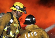 Los Angeles Fire Department Fire Fighting